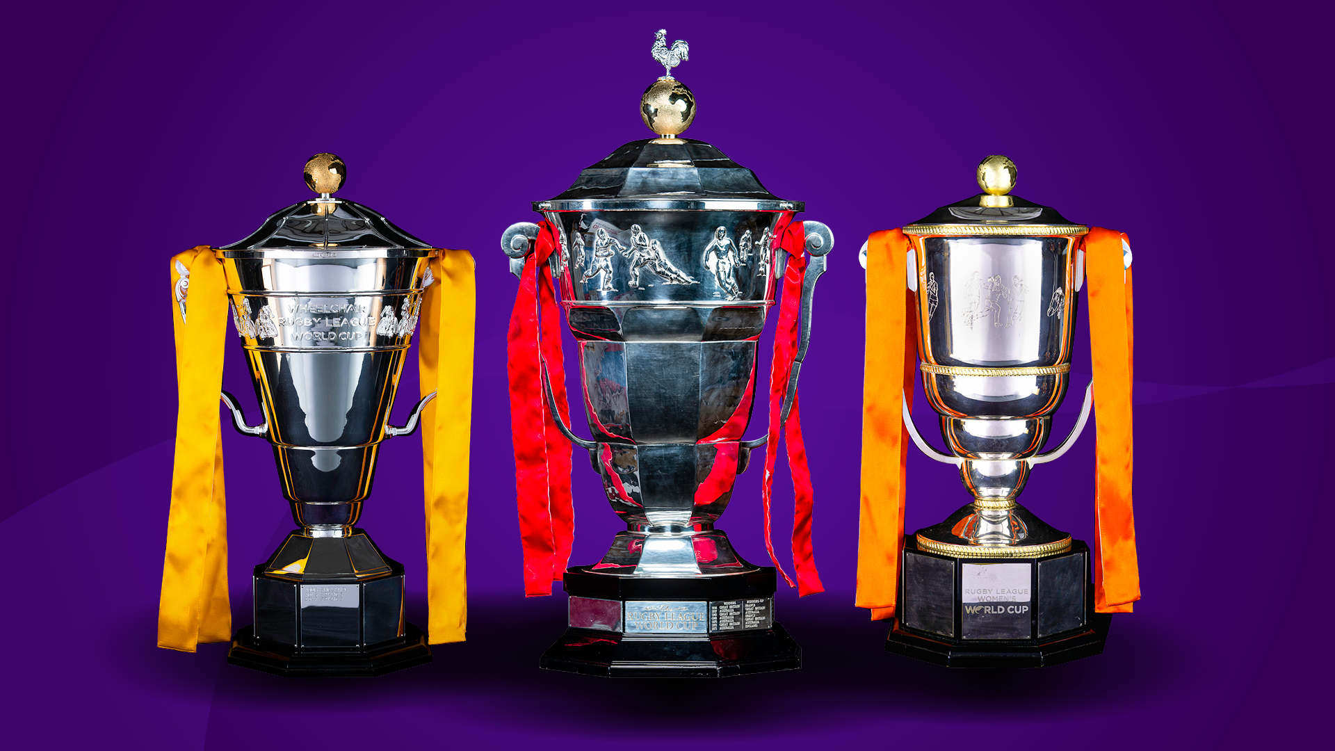 Rugby League World Cup 2021 Trophies